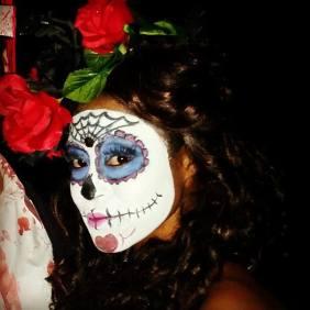 halloween sugar skull 2014 ammie leonards